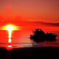 Red Silhouette by Douglas Barnard