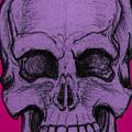 Purple Skull by Nikolaos Chantzis