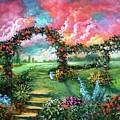 Red Sky Garden by Randy Burns