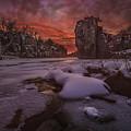 Red Sky, King Rock  by Aaron J Groen