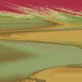 Red Sky Landscape by Lenore Senior