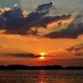Red Sky Sunset by Adam Pawlak