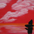 Red Sky1 by Monika Shepherdson