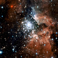 Red Smoke Star Cluster by Jennifer Rondinelli Reilly - Fine Art Photography