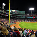 Red Sox Nation At Boston Fenway Park by Juergen Roth