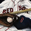 Red Sox Number Nine by Jack Skinner