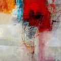 Red Splash 1 by Jane Davies