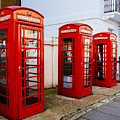 Red Telephone Booths London by Pati Photography