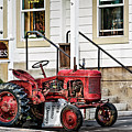 Red Tracktor by Maria Coulson