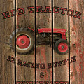 Red Tractor Farming Supply by TL Mair