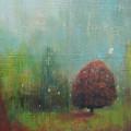 Red Tree  by Joya Paul