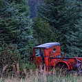 Red Truck by Kathy Whitehurst