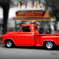 Red Truck by Perry Webster