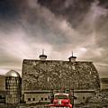 Red Truck  by Rikk Flohr