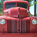 Red Truck by Wendy Fox