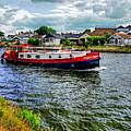 Red Tug Boat by Lance Sheridan-Peel