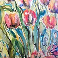 Red Tulips by Evelyn Bell Vodicka