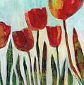Red Tulips by Julie Maas