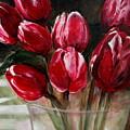 Red Tulips by Jun Jamosmos