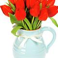 Red Tulips by Natalia Klenova