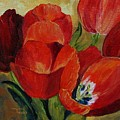 Red Tulips  by Torrie Smiley