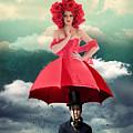 Red Umbrella by Juli Scalzi