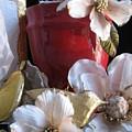 Red Vase by Lindie Racz