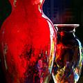 Red Vase by Paul Wear