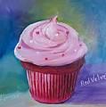 Red Velvet Cupcake by Judy Fischer Walton