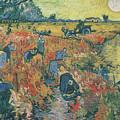 Red Vineyards At Arles by Vincent van Gogh