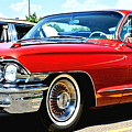 Red Vintage Cadillac by Amy McDaniel