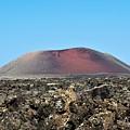 Red Volcano by Piotr Pieszak
