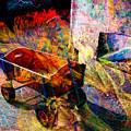 Red Wagon by Barbara Berney