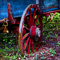 Red Wheel by Christopher Holmes