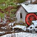 Red Wheel by Evelina Kremsdorf