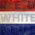 Red White Blue by Michelle Calkins