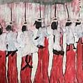 Red Woods Angels Black Like Me by Sandra Richardson