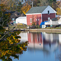 Redd's Pond Boathouse Marblehead Ma Massachusetts by Toby McGuire