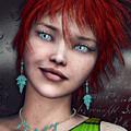 Redhead by Jutta Maria Pusl