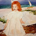 Redhead On Beach by Terri Kilpatrick