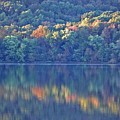 Rednor Lake Reflections - 1 by Randy Muir