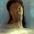 Redon: Closed Eyes, 1890 by Granger