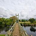 Reeth Swing Bridge by Smart Aviation
