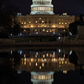 Reflecting At The Capitol by John Daly