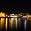 Reflecting On Malta - Cruising Out Of Valletta Grand Harbour by Georgia Mizuleva