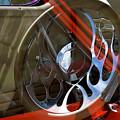 Reflections At The Car Show 9 by Kae Cheatham