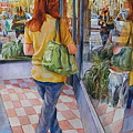 Reflecting Shopping by Carolyn Epperly
