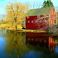 Reflection In Red by Doug Mills