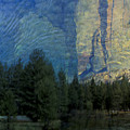 Reflection In The Merced River by Stan and Anne Foster