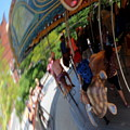 Reflection Of A Merry Go Round by Lennie Malvone